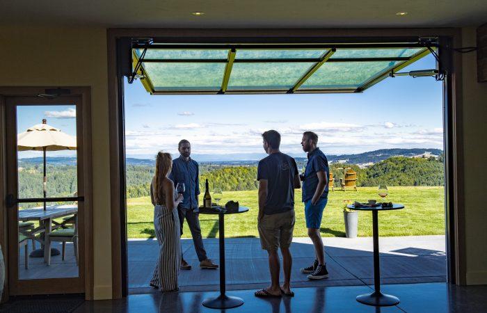 Crown Doors, Fairsing Vineyard, Willamette Valley, Oregon